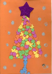 2017 Christmas Card competition: 3rd place Christmas tree