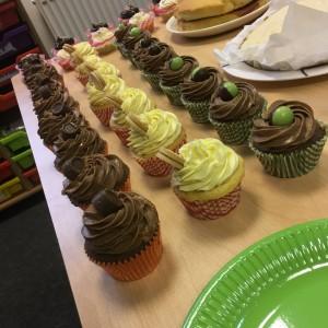 cupcakes for Macmillan Coffee Morning