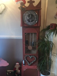 Victorian handcrafted grandfather's clock